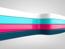 4 flexible strip Stock Photo