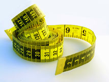 Flexible Tape Measure Royalty Free Stock Photo