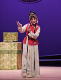 """Flexible wit-Kunqu Opera """"the West Chamber"""" Royalty Free Stock Images"""