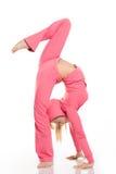 Flexible woman Stock Photography