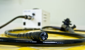 Flexibler Endoscope Lizenzfreies Stockfoto