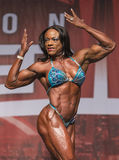 Flexing Floridian Finishes Fourth in Toronto Royalty Free Stock Image