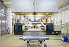 Flexo Printing Stock Image