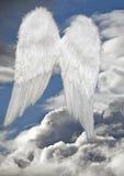 Flügel eines Engels Stockbild