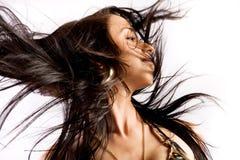 Flick dei capelli immagine stock libera da diritti