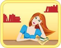 flicka Vektor Illustrationer