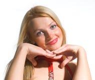 flicka 18 går Royaltyfri Bild