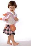 flicka 3 Arkivbild