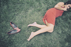 flicka Royaltyfri Bild
