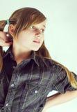 flicka Royaltyfri Fotografi