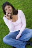 flicka Arkivfoto