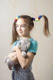 flicka Arkivbild