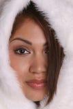flicka för 2 eskimo Arkivfoto