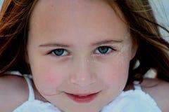 flicka för 2 strand royaltyfria bilder
