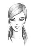 flicka för 4 mode Arkivfoto