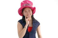 flicka för asiat 2 Arkivbild
