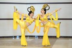 Flicka för två kines royaltyfri foto