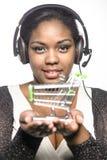 Flicka för appellmitt Fotografering för Bildbyråer