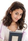 Flicka för slagträMitzvah Arkivfoto