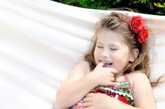 flicka hancock little Royaltyfria Bilder