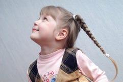 flicka iii little arkivfoto