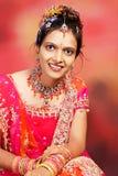 flicka india Royaltyfri Bild