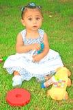 flicka little Royaltyfri Fotografi
