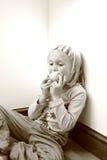 flicka little Royaltyfria Foton