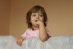 flicka little Royaltyfria Bilder