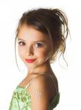 flicka little royaltyfri bild