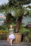 1 flicka little Fotografering för Bildbyråer
