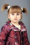 flicka little Arkivbilder