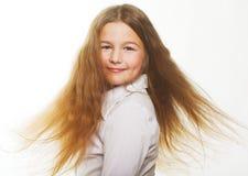 flicka little som är älskvärd arkivbilder