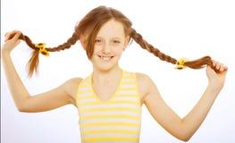 flicka little som är älskvärd royaltyfri fotografi