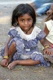 flicka little som är dålig Royaltyfria Foton
