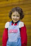 flicka little som är nätt royaltyfria bilder