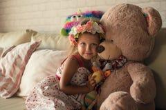 flicka little stående fotografering för bildbyråer