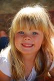 flicka little stående royaltyfri foto