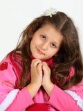 flicka little stående Royaltyfria Foton
