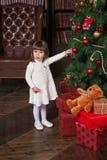 flicka little stående Royaltyfri Bild