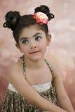 Flicka med ron Royaltyfri Bild