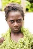 Flicka Solomon Islands Arkivfoton