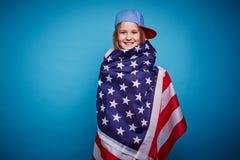 flicka USA Arkivbilder