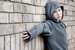 flicka utanför Royaltyfria Foton