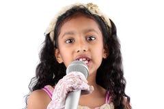 flickaanförande Arkivbild