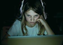 flickaanteckningsbok Royaltyfri Bild