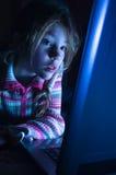 flickaanteckningsbok arkivfoton