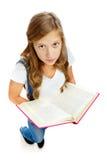 flickaavläsning Arkivfoto