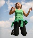 flickabanhoppning Fotografering för Bildbyråer