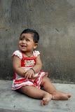 Flickabarn i Indien Royaltyfria Bilder
